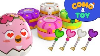 Como and Toys | Treasurechest 2  | Learn colors and words | Cartoon video for kids | Como Kids TV