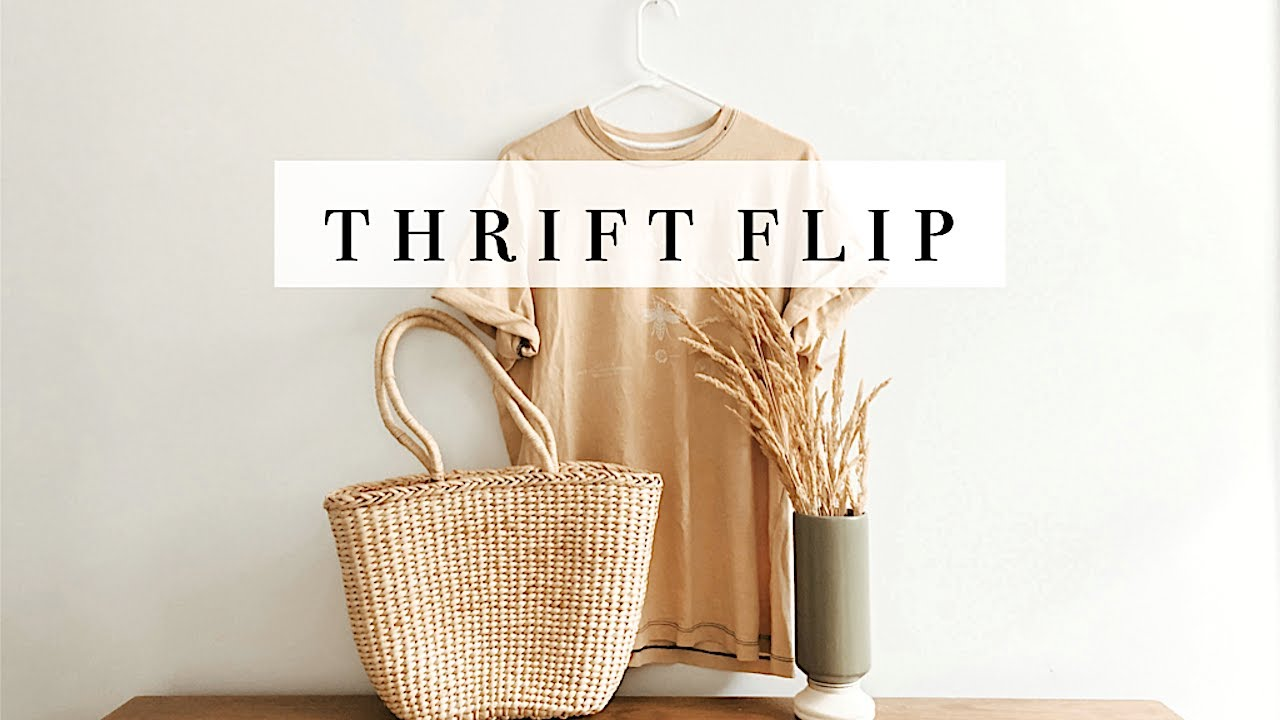 [VIDEO] - Thrift Flip + Upcycle (fall home decor item & more) 3