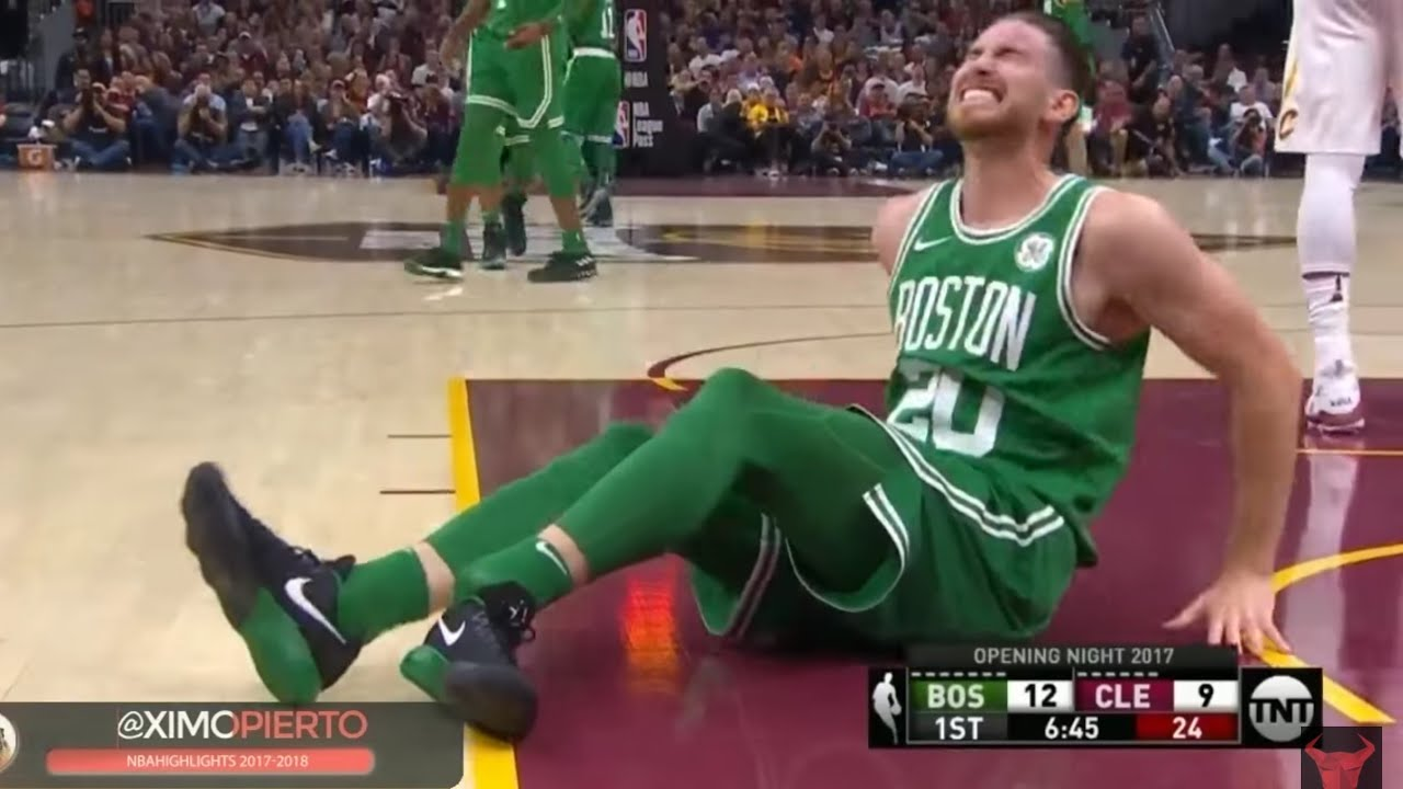 Gordon Hayward Ankle Injury Boston Celtics 2017 Youtube