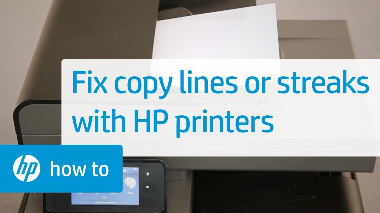 Laser Printer Has Strips Down Page