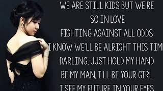 Ed Sheeran  --Perfect ( Lyrics/Kristel Fulgar cover)