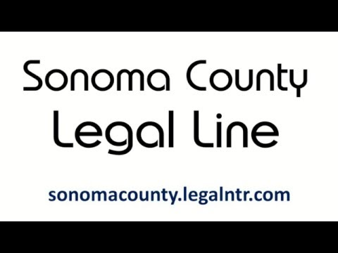 Sonoma County Legal Line