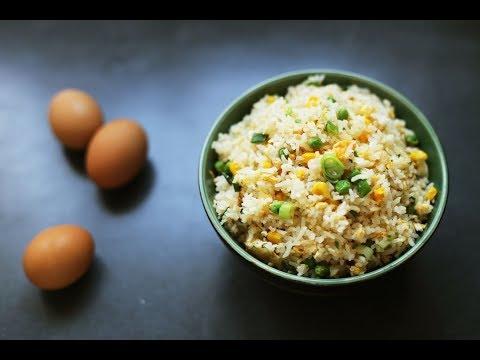 Рис в мультиварке с яйцом