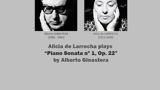 Alicia de Larrocha plays Ginastera's Sonata Nº 1 Op 22 ( LIVE 1969)