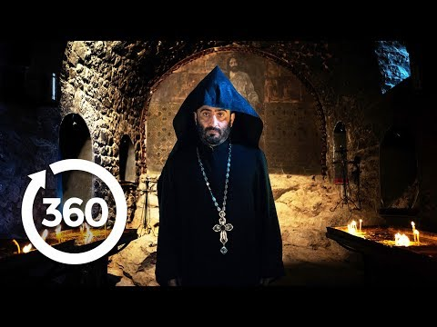 Descend Into A Holy Dungeon | Yerevan, Armenia 360 VR Video | Discovery TRVLR