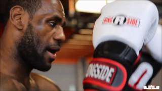 LeBron James: Day In The Life 2014 Pre Playoffs Workout Practice FULL
