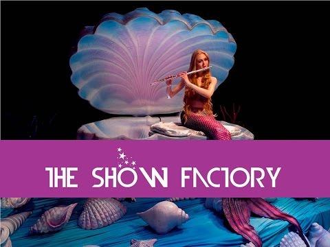 Flute Mermaid #uirpl #theshowfactory