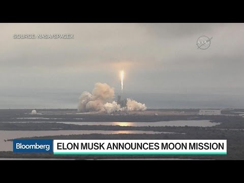 Elon Musk's SpaceX Aims for the Moon in 2018