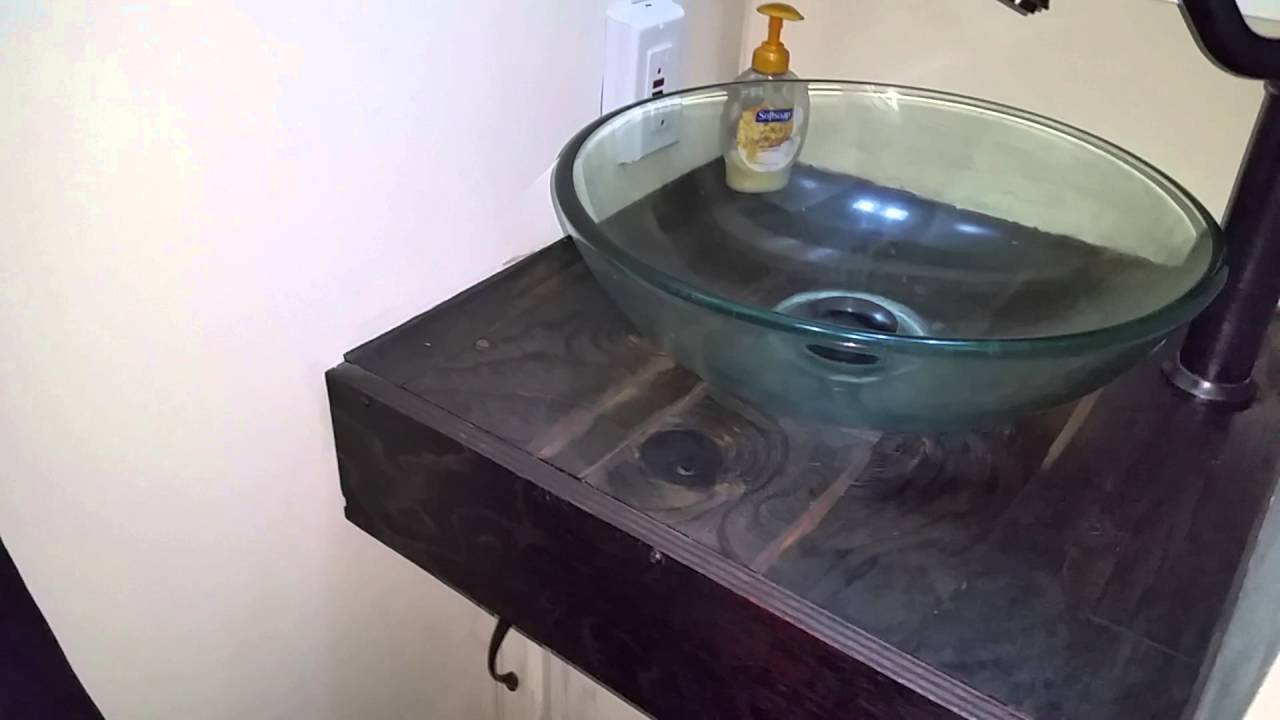 Travel Trailer Bathroom Renovation