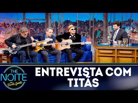 Entrevista com Titãs  The Noite 131118