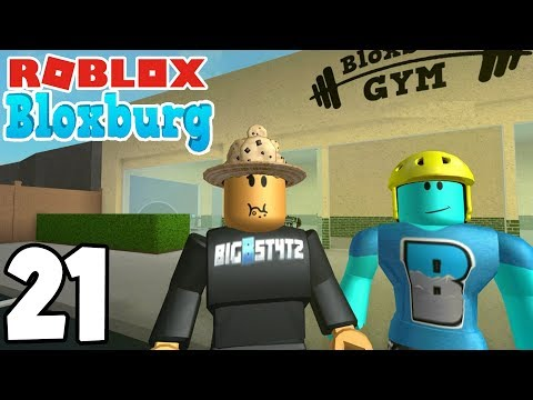 TRAINING WITH COOLBOY! | Roblox BLOXBURG | Ep.21