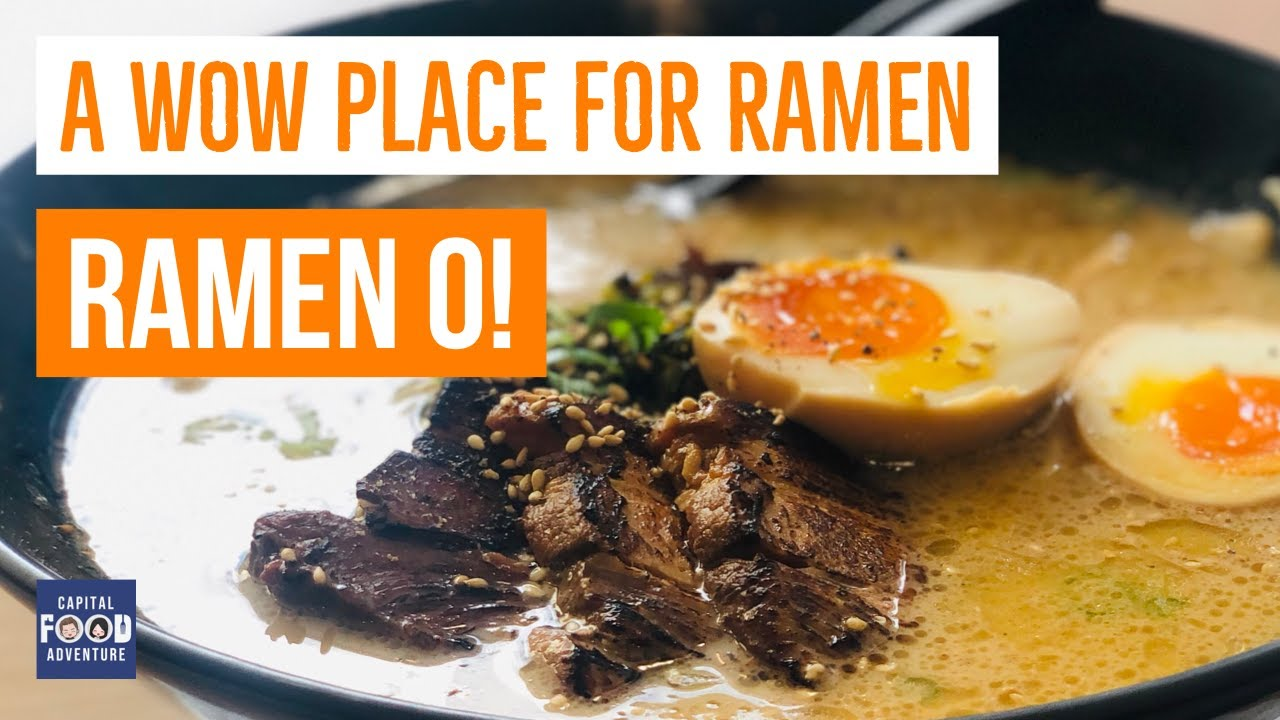 Ramen O - Authentic Kyushu ramen in Canberra - Belconnen