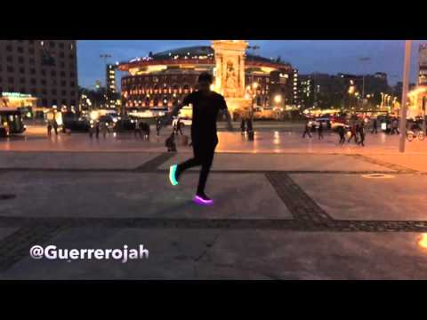 Man Cutting Shapes on Barcelona City (House Shuffle) Electric Styles - Guerrero Jah