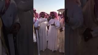الامير ذيب بن مترك بن شفلوت يطلب من اهل الدم مقابلة مشايخ واعيان القبائل