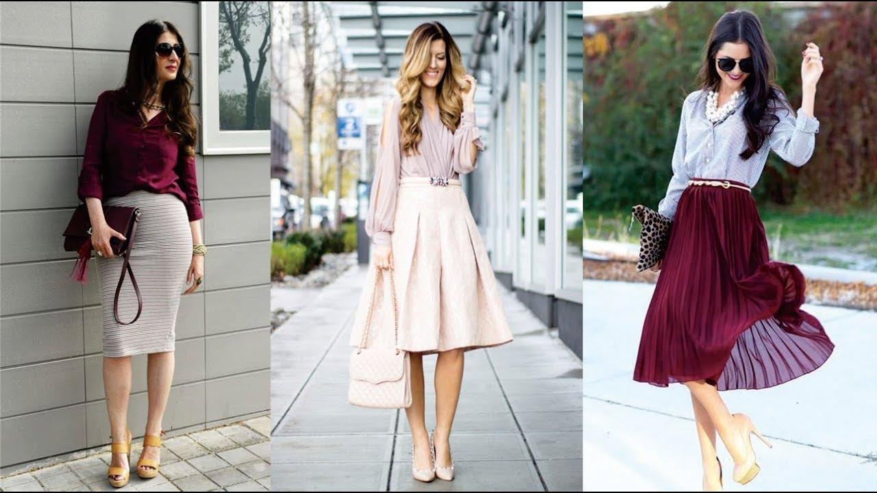 gran descuento varios colores precio oficial Outfits con faldas - Moda y tendencias 2018