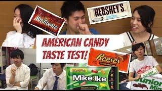 アメリカのお菓子初めて食べてみたJapanese try American candy for the first time! (American candy taste testing )