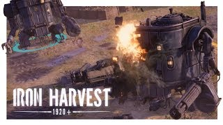 IRON HARVEST GAMEPLAY #1 | Pre Alpha Kickstarter Demo Early Look (PC RTS)