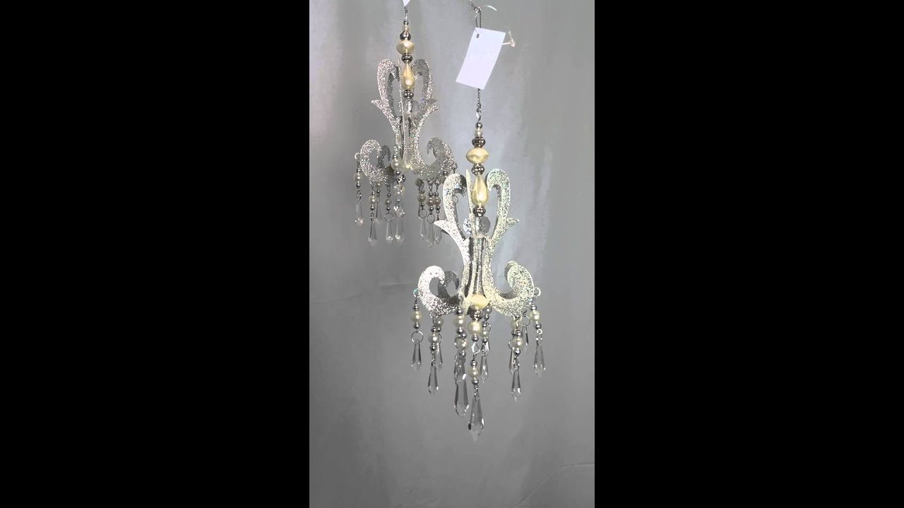 Katherine S Collection Chandelier Ornament