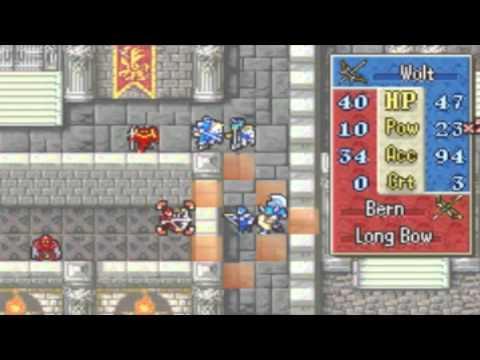 Fire Emblem: Binding Blade Walkthrough Part 28: Chapter 22 - The Neverending Dream