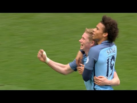 Man City thump Crystal Palace 5-0