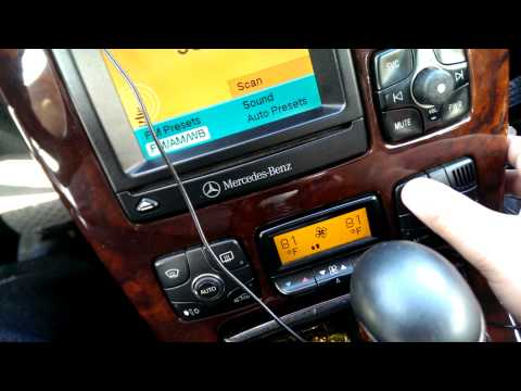 Mercedes S W220 A/C Auto Button and Fault Codes Question | FunnyCat TV