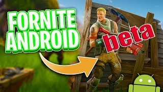 Fortnite  of android se acerca su salida!!