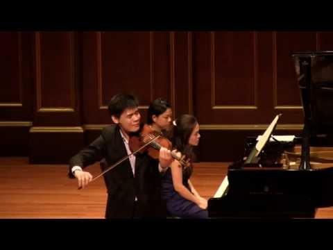 Ravel Tzigane - Angelo Xiang Yu