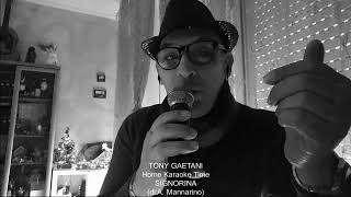Tony Gaetani SIGNORINA (di A. Mannarino)  Home Karaoke Time