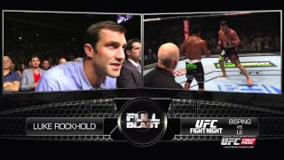 Video Full Blast: Luke Rockhold - Bisping vs Le download MP3, 3GP, MP4, WEBM, AVI, FLV November 2017