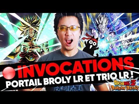 DOKKAN - Invocation GA Broly LR, farm TB + EPIC7