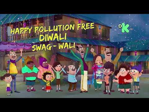 Swag Wali Diwali With Fukrey Boyzzz |Everyday 1.30 PM & 7.30 PM | Discovery Kids India