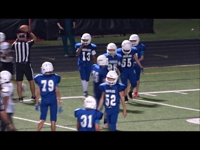 18-9-11 Grisham 8 Football Cedar Valley