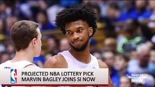 NBA Draft: Marvin Bagley interview