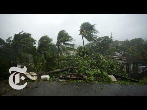 Hurricane Maria Batters Dominica