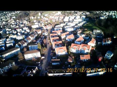 RC-Flight over Hinwil, Switzerland