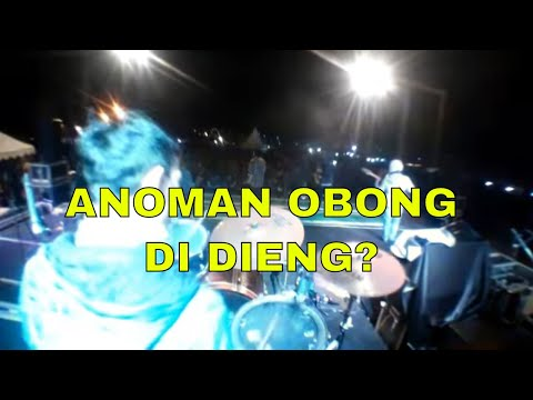 Jazz Atas Awan - Anoman Obong by Jammers Instrumental at Dieng Culture Festival 2015 (Drum Cam)