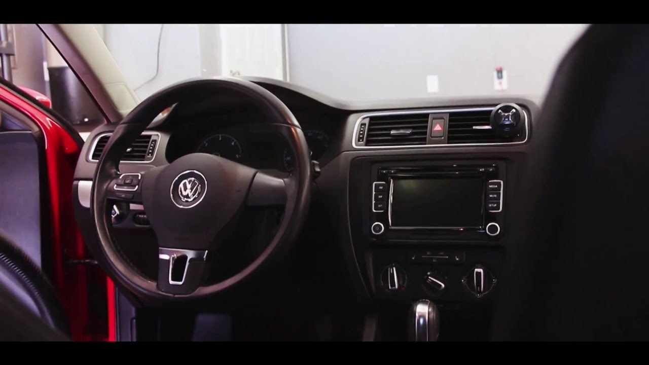 2011 Vw Jetta Interior Detail Youtube