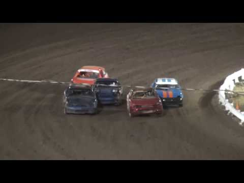 Outlaw 4 Cylinder feature Farley Speedway 4/21/17