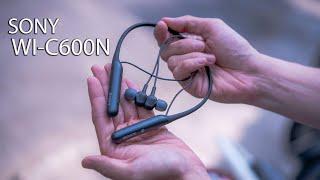 Trên tay tai nghe Bluetooth Sony WI-C600N