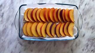 Рецепт творожной запеканки  | Диетическая запеканка из творога | Творожная запеканка с персиками