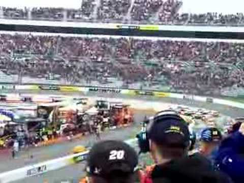 Goodys Cool Orange 500 1st lap Martinsville, VA NASCAR