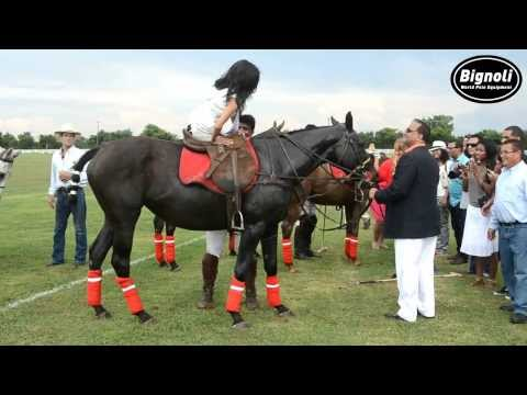 Capitol POLOTV: INDIAN-AMERICAN LEADERSHIP CUP (Miss District of Columbia riding a horse)