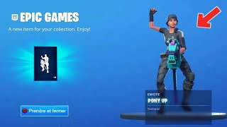HOW TO THE EMOTE TAGADA HUE FREE ON FORTNITE BATTLE ROYAL