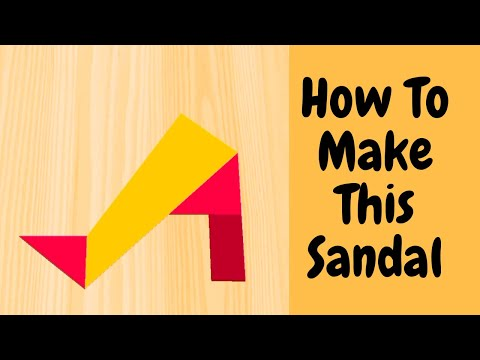 How To Make A Sandal | Shorts | Sandal | Mix Videos