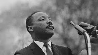 Martin L. King speaks to a church in Shreveport la.