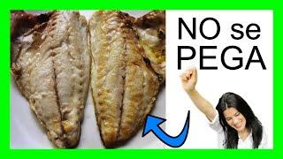 Cómo hacer pescado a la plancha sin que se pegue