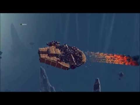 Besiege – Millennium Falcon