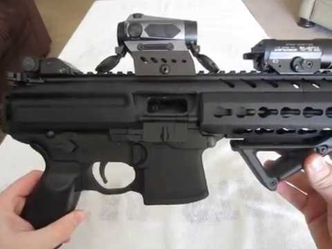 Gen II Keymod Sig MPX with Romeo4C - Close up look!