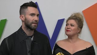 Adam Levine Jokes His Songs Are 'Too High' for Him to Sing (Exclusive)
