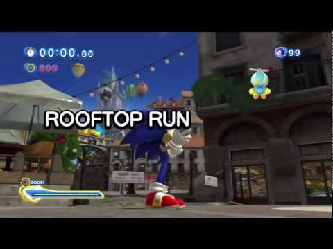 Sonic Generations - Rooftop Run Act 2 (Endless Possibilities song)